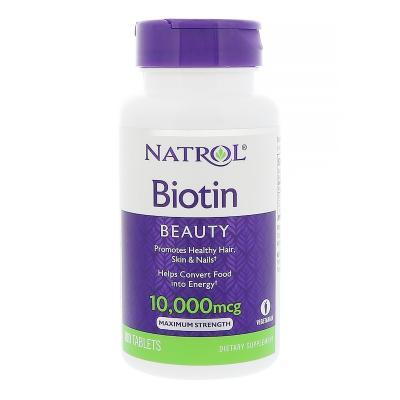 Natrol Biotin 10,000Mcg - Us Home