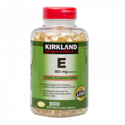 Vitamin E 400 IU Kirkland - Us Home