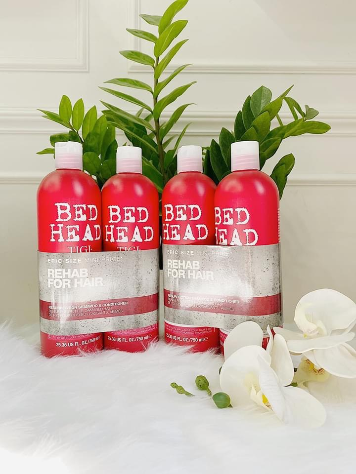 Dầu Gội Xả Tigi 3 Bed Head Urban Antidotes Resurrection, Đỏ - Us Home