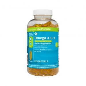 Viên uống omega 3-6-9 Member's Mark Supports Heart Health - Us Home