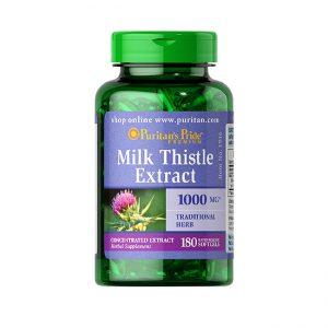 Viên Uống Thải độc Bổ Gan Milk Thistle Extract - Us Home