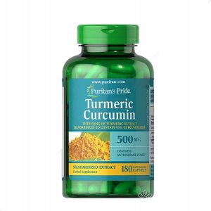 Viên uống tinh chất nghệ vàng Turmeric Curcumin Puritan's Pride 500mg - Us Home