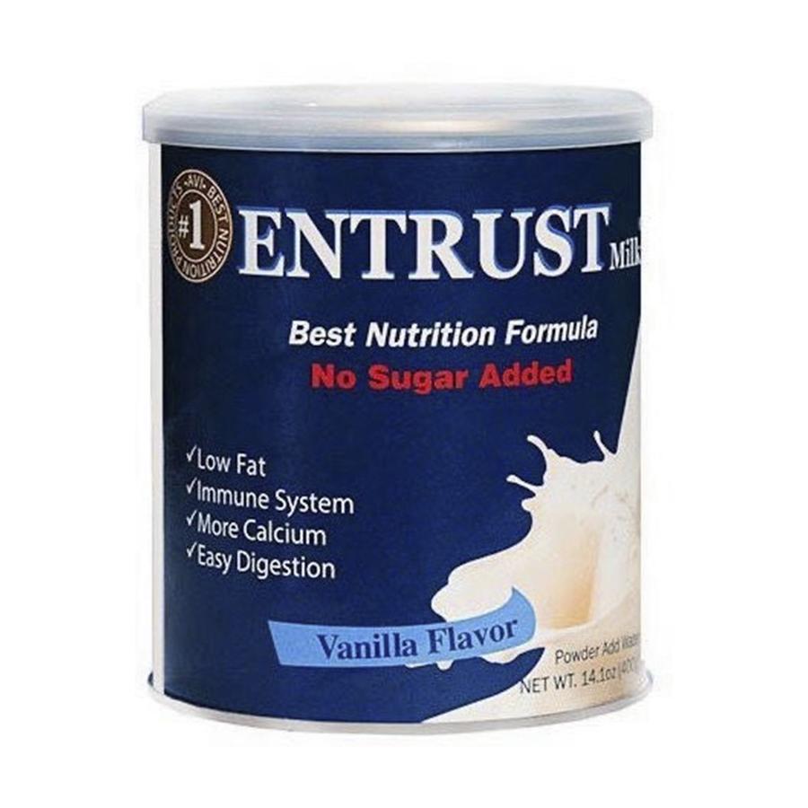 Sữa Entrust Mỹ cho người tiểu đường - Us Home