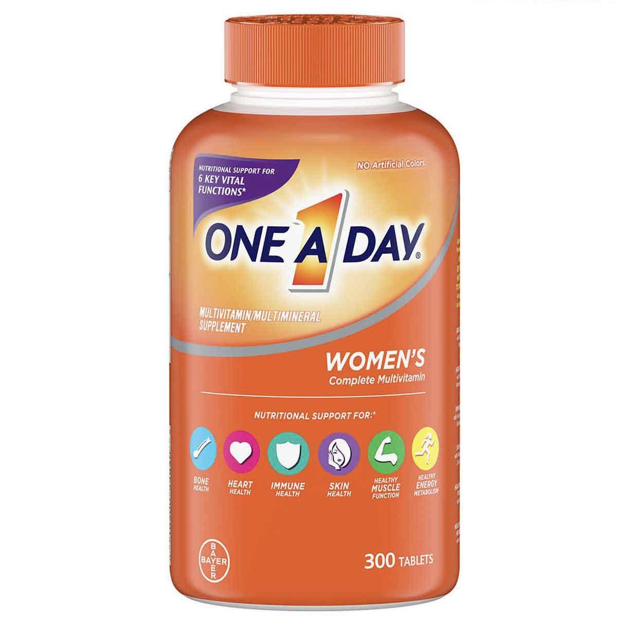 Viên Uống Bổ Sung Vitamin Tổng Hợp One A Day Women Multivitamin - Us Home