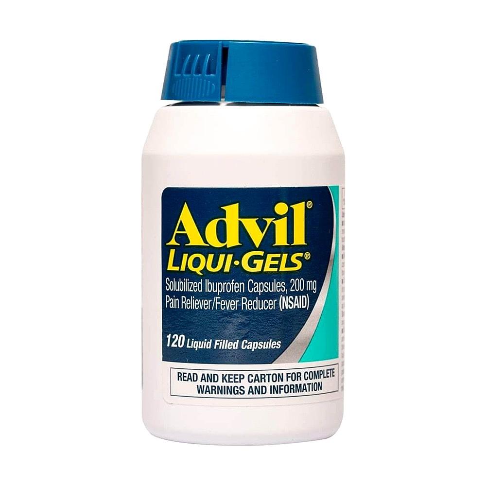Viên uống giảm đau, hạ sốt Advil Liqui Gels 200mg - Us Home
