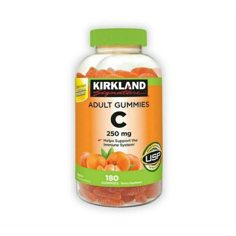 Kẹo dẻo Vitamin C Kirkland Adult Gummies C 250mg - Us Home