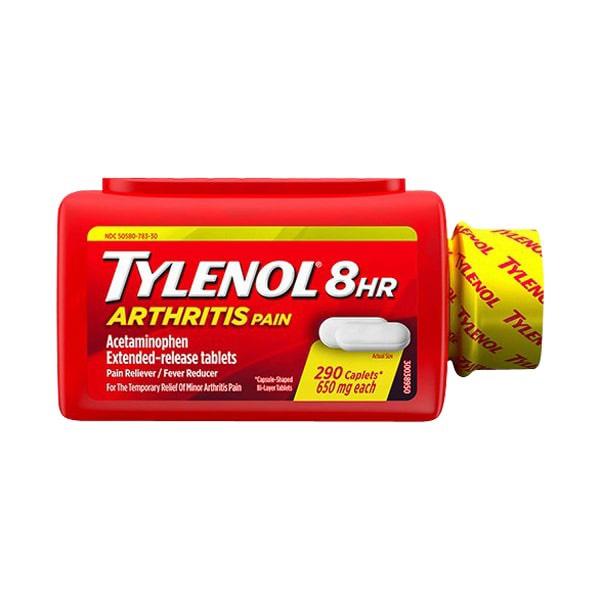 Tylenol Arthritis Pain Acetaminophen Extra Strength 650mg - Us Home