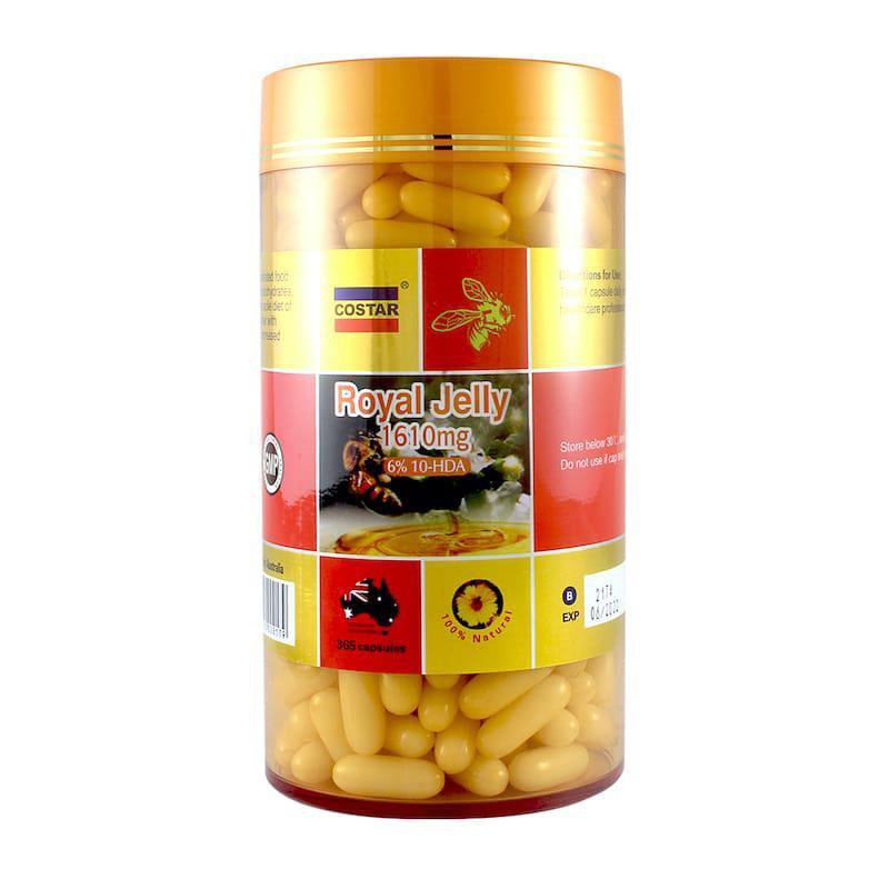 Sữa Ong Chúa Royal Jelly Costar 1610mg - Us Home