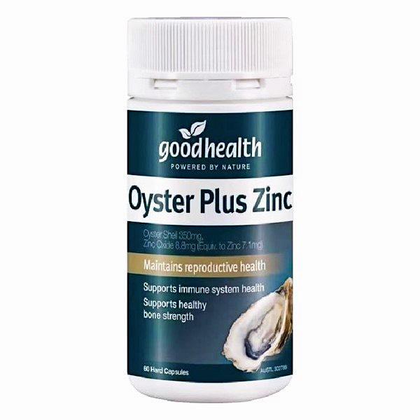 Tinh Chất Hàu Oyster Plus Zinc Good Health - Us Home